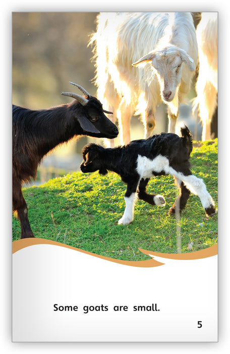 Goats on the Go Leveled Book