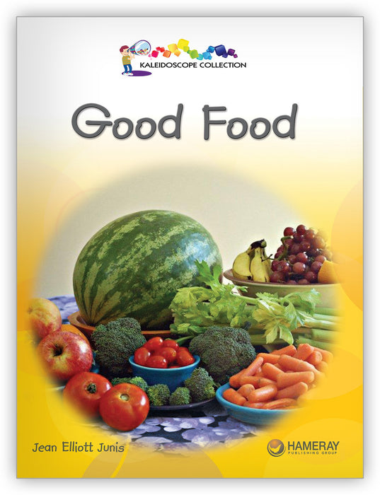 Good Food Big Book Leveled Book