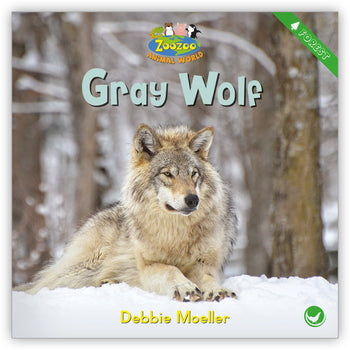 Gray Wolf from Zoozoo Animal World