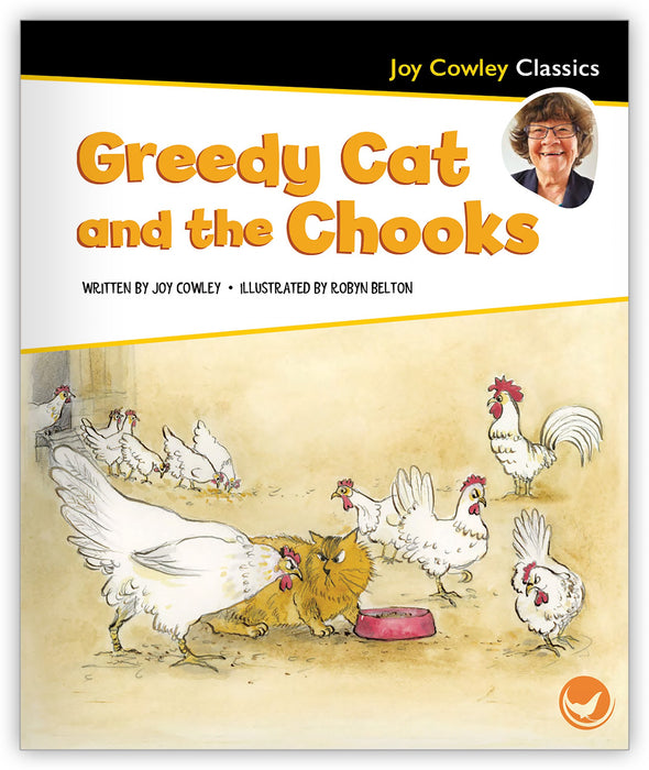 Greedy Cat and the Chooks Leveled Book