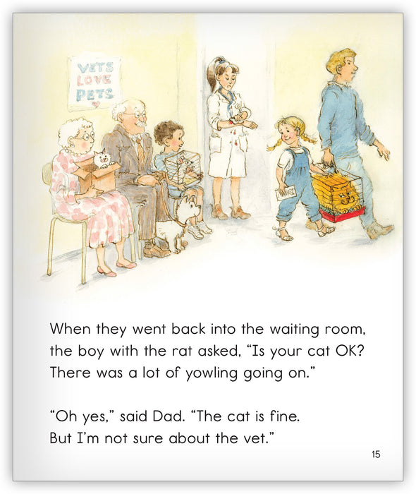 Greedy Cat and the Vet from Joy Cowley Classics