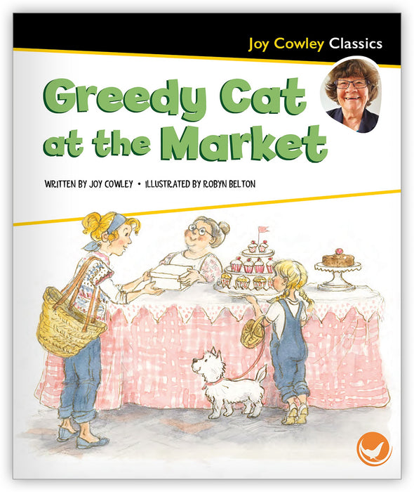 Greedy Cat at the Market Leveled Book
