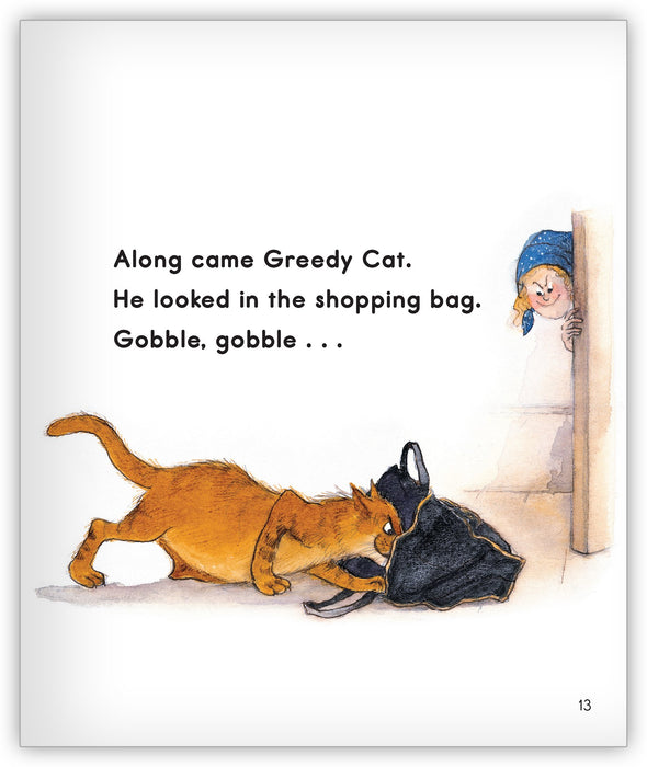 Greedy Cat Big Book from Joy Cowley Classics