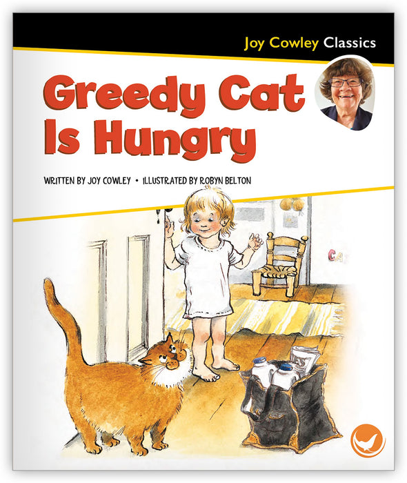 Greedy Cat Is Hungry Big Book Leveled Book