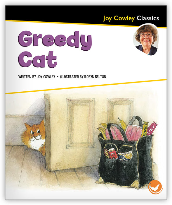 Greedy Cat Leveled Book