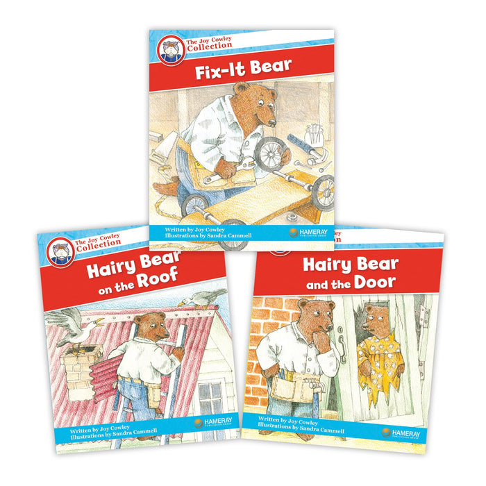 Hairy Bear Character Set Image Book Set