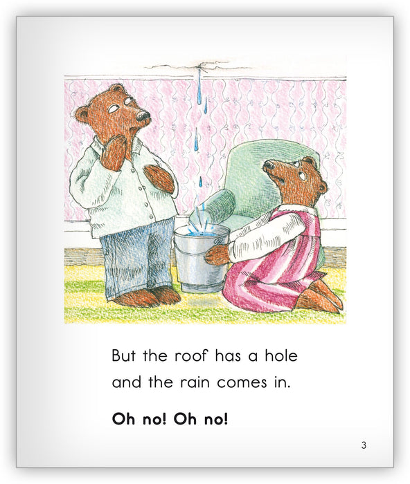 Hairy Bear on the Roof Leveled Book
