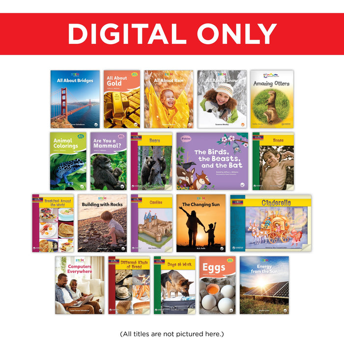 2nd Grade Classroom Library Digital Set