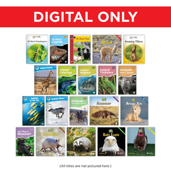 Animals Topic Digital Set from Various Series