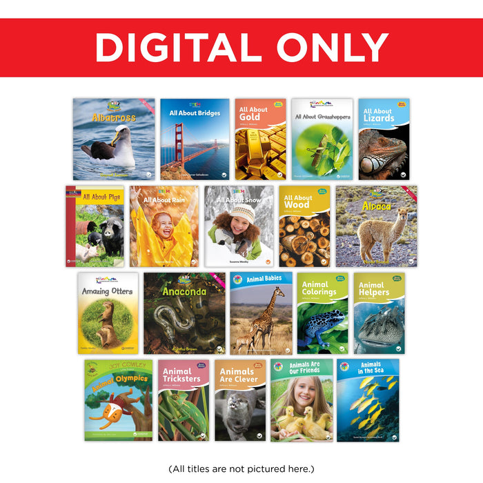 K-2 Complete Classroom Library Digital Set