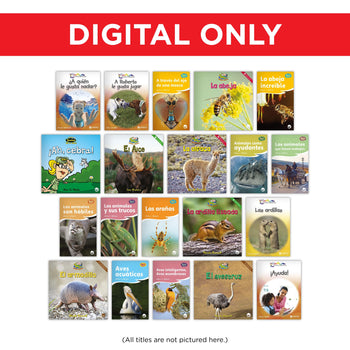 Spanish K-2 Library Digital Set from Various Series