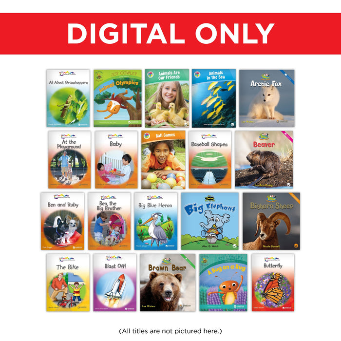 Kindergarten Classroom Library Digital Set
