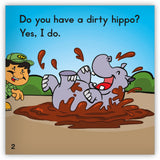 Dirty Hippo from Zoozoo Into the Wild
