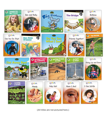 Level B Guided Reading Set from Various Series