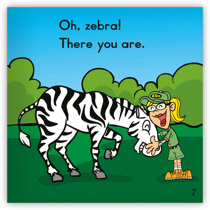 Oh, Zebra! from Zoozoo Into the Wild