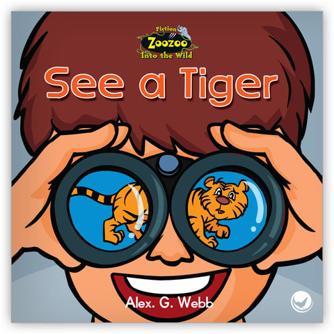 See a Tiger from Zoozoo Into the Wild