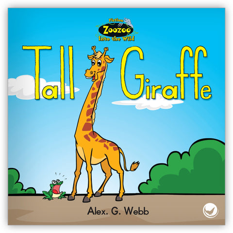 Tall Giraffe from Zoozoo Into the Wild