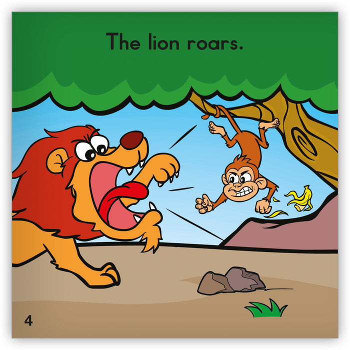 The Lion Roars from Zoozoo Into the Wild