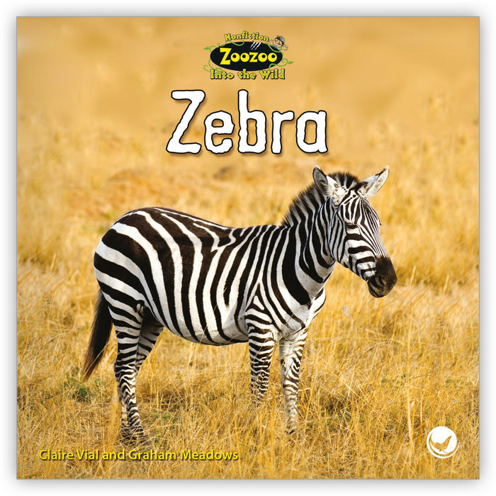Zebra from Zoozoo Into the Wild