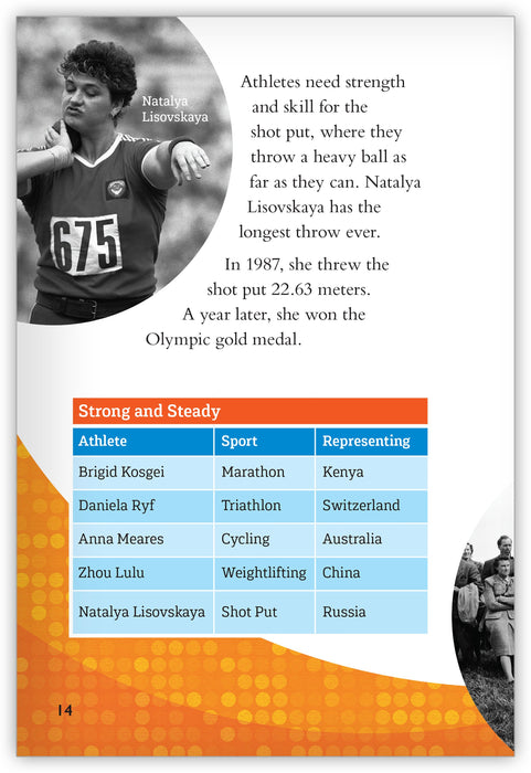 Higher, Faster, Stronger: The Greatest Female Athletes Leveled Book