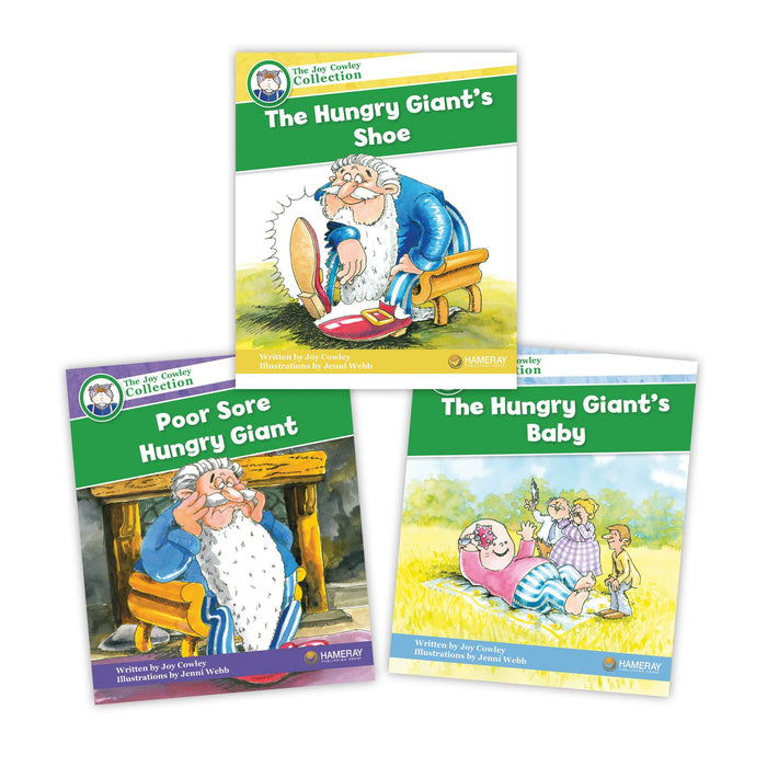 Hungry Giant Character Set Image Book Set