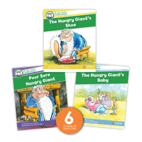 Hungry Giant Guided Reading Set from Joy Cowley Collection