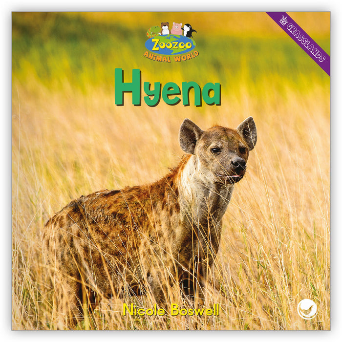 Hyena Big Book from Zoozoo Animal World