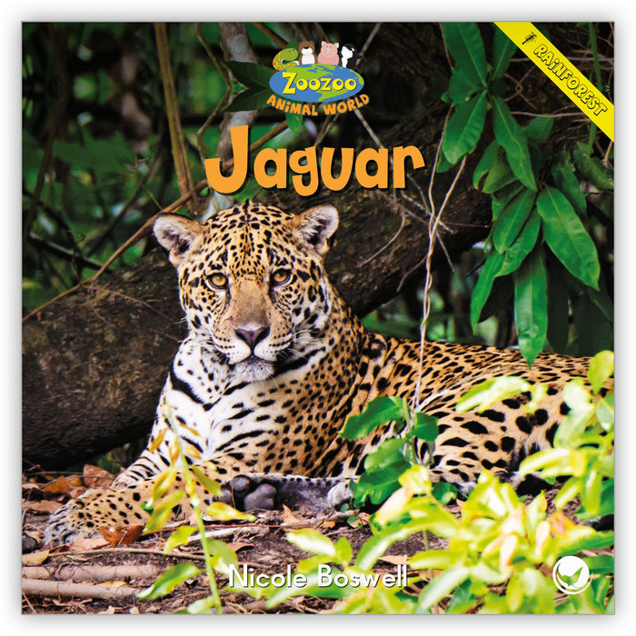 Jaguar Big Book from Zoozoo Animal World