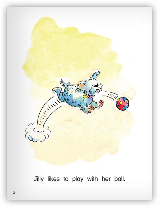 Jilly's Ball Leveled Book