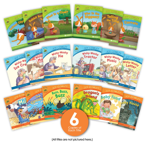 Joy Cowley Early Birds Guided Reading Set (Legacy Set) from Joy Cowley Early Birds