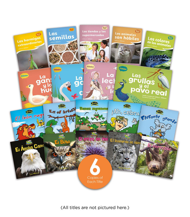 K 2 Complete Spanish Guided Reading Library Image Book Set