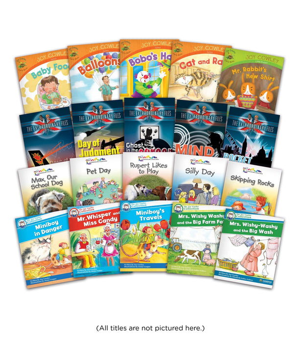 K 5 Fiction Leveled Bookroom Image Book Set