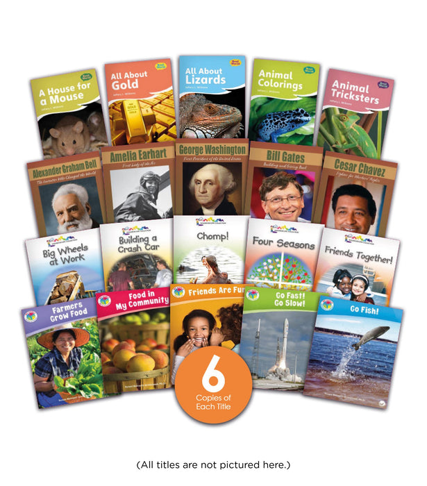 K 5 Nonfiction Guided Reading Bookroom Image Book Set