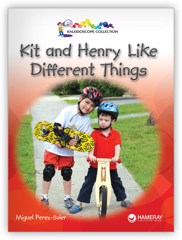 Kit & Henry Like Different Things from Kaleidoscope Collection