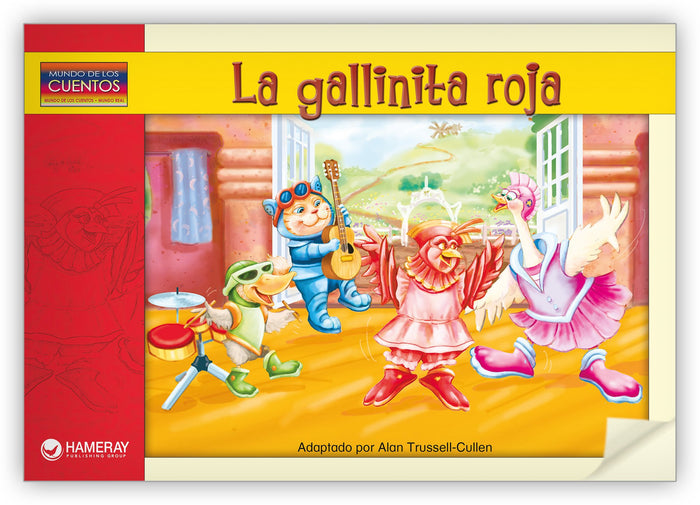 La gallinita roja Leveled Book