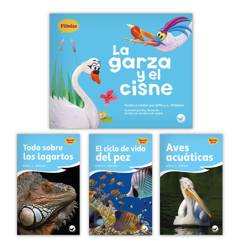 La garza y el cisne Theme Set from Fábulas y el Mundo Real