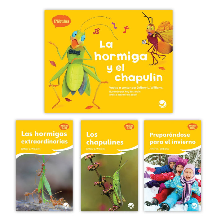 La Hormiga Y El Chapulin Theme Set Image Book Set