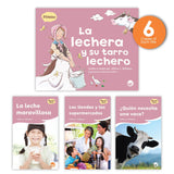 La Lechera Y Su Tarro Lechero Theme Guided Reading Set Image Book Set