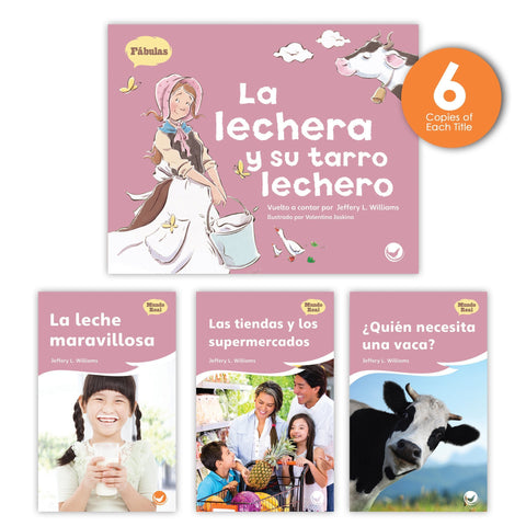 La lechera y su tarro lechero Theme Guided Reading Set from Fábulas y el Mundo Real