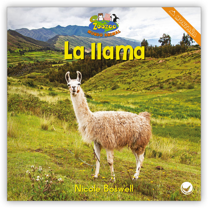 La llama from Zoozoo Mundo Animal