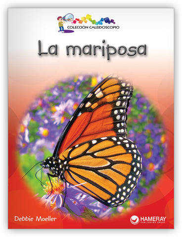 La mariposa Big Book from Colección Caleidoscopio
