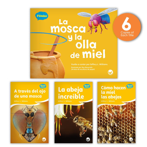 La mosca y la olla de miel Theme Guided Reading Set from Fábulas y el Mundo Real