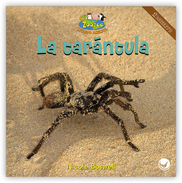 La tarántula Leveled Book