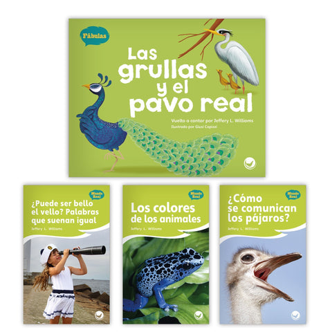 Las grullas y el pavo real Theme Set from Fábulas y el Mundo Real