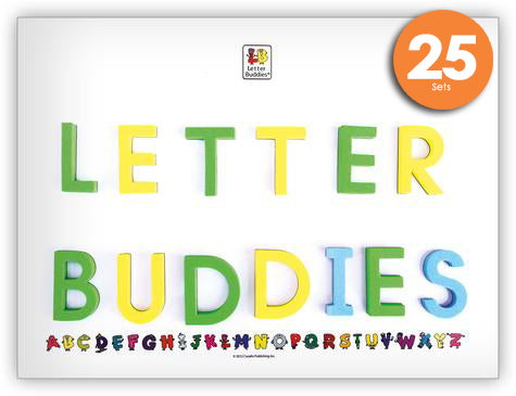 Letter Buddies Magnetic Whiteboard Class Set