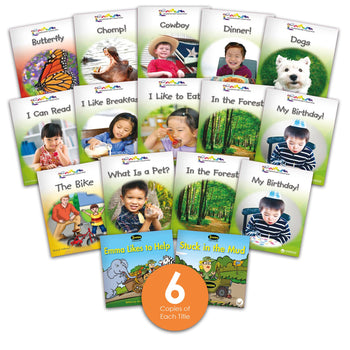 Level A Guided Reading Set from Various Series