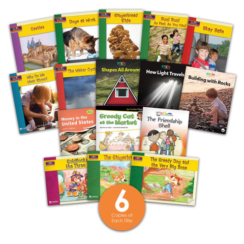 Level K Guided Reading Set from Various Series