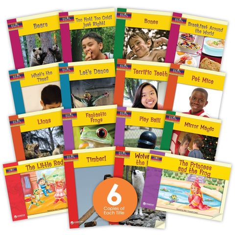 Level L Guided Reading Set from Story World Real World