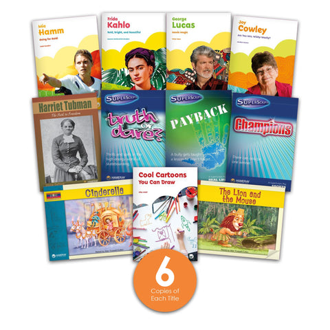 Level M Guided Reading Set from Various Series