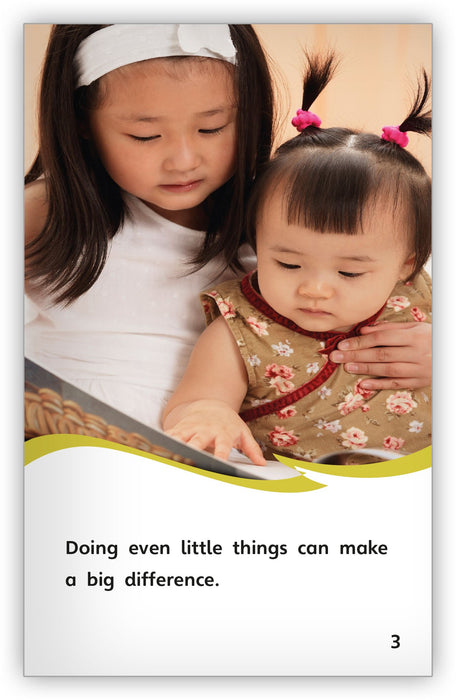 Little Helpers Can Do Big Things Leveled Book